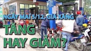 (VTC14)_Ngày mai 5/12, giá xăng tăng hay giảm?