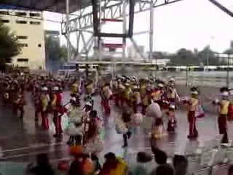 Banda Show A.L.B Exibicion de bandas santarita 2008