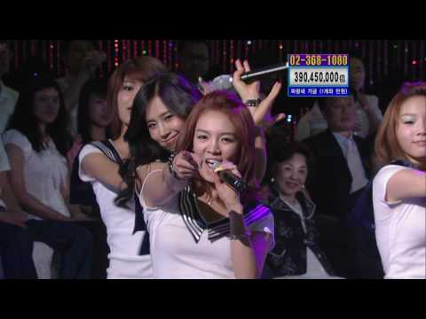 SNSD Tell Me Your Wish Genie Live 2009 07 25 Yoobin Skyrock