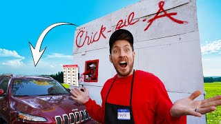 WE BUILT OUR OWN MICRO CHICK-FIL-A!