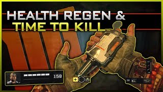 Health Regeneration, Body Armor, & Time to Kill in Black Ops 4! (Pre-Alpha Breakdown)