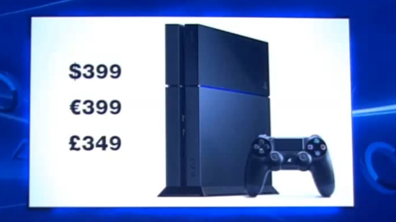 PS4 Price Tag = $399 / $400 Dollars (Cheapest Next-Gen ...