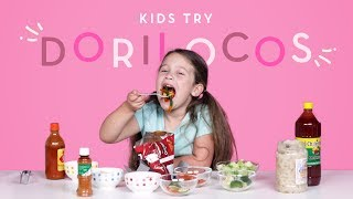 Kids Try Dorilocos | Kids Try | HiHo Kids