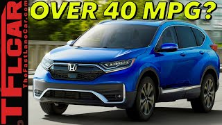 The 2020 Honda CR-V Hybrid Is Coming To The U.S.! Here's What You Need To Know