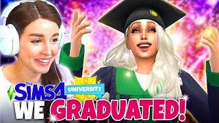 GRADUATION! (The Sims 4 DISCOVER UNIVERSITY! 👩🏼🎓 #9)