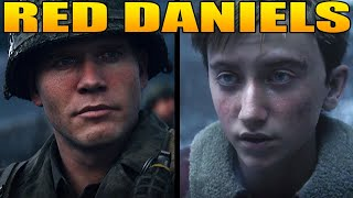 """The Full Story of Ronald """"Red"""" Daniels (Call of Duty WW2 Story)"""