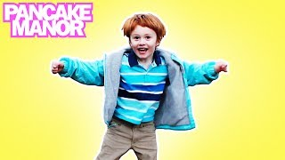 Move your Legs | Exercise Song for Kids | Pancake Manor