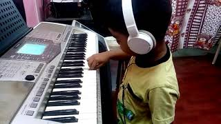 DMW's Student Gaurav Playing Pink Panther Keyboard Notes How to Play Pink Panther Music Notes