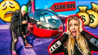 BUYING MY GIRLFRIEND EVERYTHING I TOUCH BLINDFOLDED! *EXPENSIVE*
