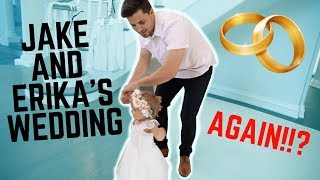 JAKE AND ERIKA'S WEDDING AGAIN * NEW TEAM 10 MANSION*