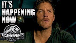 It's Happening Now | Jurassic World: Fallen Kingdom (2018) | HD SPOT |Chris Pratt, Dinosaurs movie