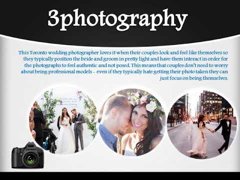 Why Hire Toronto Wedding Photographer - 3Photography.ca