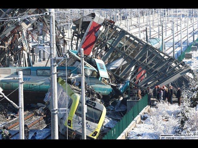 土耳其高鐵撞車出軌翻覆 已9死47傷