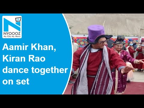 Aamir Khan, Kiran Rao dance together on Laal Singh Chaddha sets, days after announcing divorce