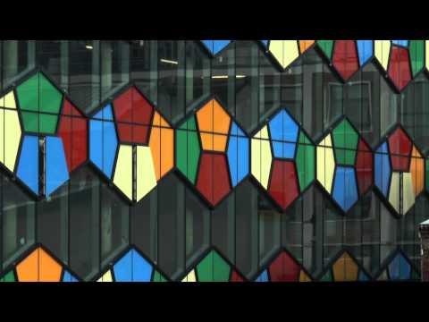 A kaleidoscope of glass creates new landmark for Stoke-on-Trent