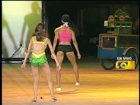 Baile sexy coronación de la reina del carnaval de Barranquilla 2010