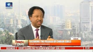 Sen. Shehu Sani Explains Factors Led To The Released Of Chibok Girls