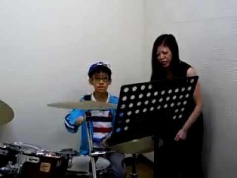蘇品文---爵士鼓配樂練習