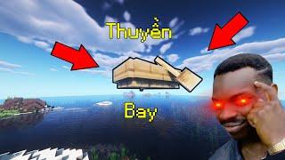 Top 5 Lỗi Kì Lạ Và Thú Vị Trong Minecraft - Thuyền Bơi Trên Không