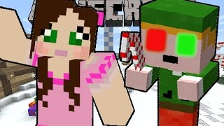 Minecraft: ELF TROUBLE (SAVE CHRISTMAS FROM CRAZY ELVES!) Mini-Game