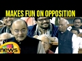 Jaitley makes fun of Opposition over demonetisation..