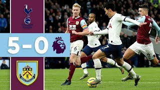 SPURS RUTHLESS | THE GOALS | Tottenham v Burnley 2019/20