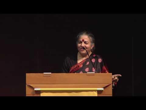 "Vandana Shiva ""Future of Food: Dictatorship or Democracy?"""