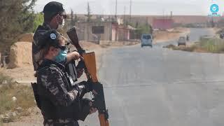 قواتنا تقوم بتطبيق الحظر الكلي في بلدة صرين بإقليم الفرات لليوم السابع على التوالي