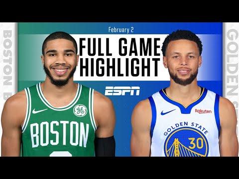 Boston Celtics vs. Golden State Warriors [FULL GAME HIGHLIGHTS]   NBA on ESPN