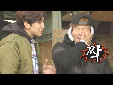 이광수, 칭얼대는 김종국에 따귀 《Running Man》런닝맨 EP462