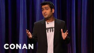 Kumail Nanjiani Stand-Up 02/24/11  - CONAN on TBS