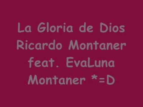 la gloria de Dios pista Karaoke - Ricardo Montaner feat. Evaluna Montaner