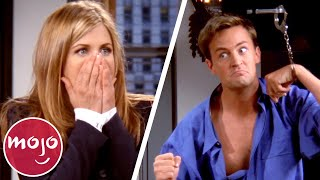 Top 10 Unscripted Friends Moments
