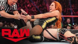 Becky Lynch vs. The Kabuki Warriors: Raw, Dec. 9, 2019