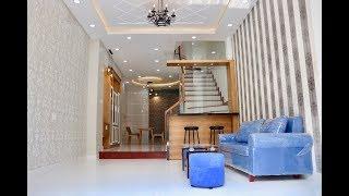 Nhà bán Gò Vấp. 4 x 15m nhà bán 3 lầu thiết kế đẹp nội thất cao cấp giá rẻ Lê Văn Thọ Gò Vấp 5.39 tỷ
