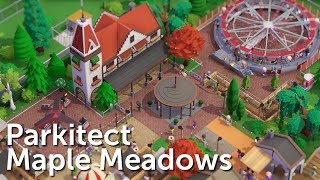 Parkitect Campaign (Part 1) - Maple Meadows - Realistic Family Park