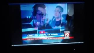 A video i took from a while ago of markiplier on the news!