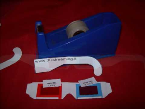 How to make 3D Glasses by yourself - Anaglyph - by 3Dstreaming.it