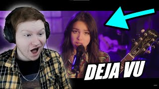 Olivia Rodrigo Performs Deja Vu Live REACTION!!! | MTV
