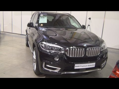 BMW X5 xDrive 40d Black Sapphire (2016) Exterior and Interior in 3D