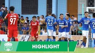 Highlights | HAGL thêm một lần đau trên đất Mỏ | Vòng 15 V.League 2019 | HAGL Media