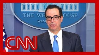 Steve Mnuchin details new sanctions on Iran