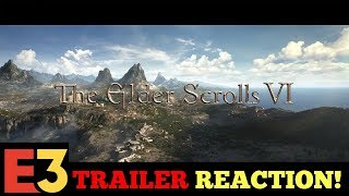 The Elder Scrolls VI – Official E3 Announcement Teaser REACTION!