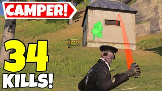 BEST SHACK CAMPER STRATEGY IN CALL OF DUTY MOBILE BATTLE ROYALE!