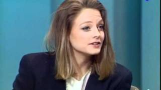 Jodie Foster french interview on Ina Plateau