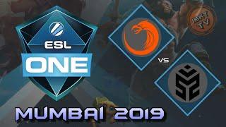 TNC Predator vs Signify / Bo3 / Playoffs /  ESL One Mumbai 2019 / Dota 2 Live