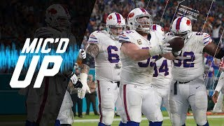 Buffalo Bills Mic'd Up vs. Dolphins Ending Longest Playoff Drought in NFL | NFL Sound FX