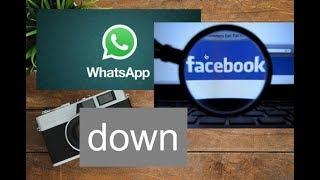 whatsapp facebook down bad news four whatsapp and facebook