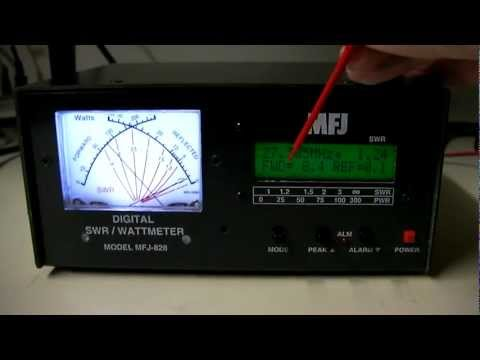 how to use vswr meter