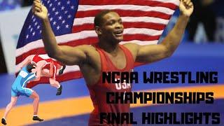 NCAA Wrestling Finals Highlights | 2019 Championships | Motivational Videos